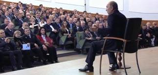 """Путин: протест в России утих, лидеры - """"умные люди"""", они """"сядут в самолет - и отвалят"""""""