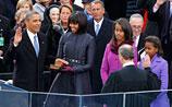 Обама принял присягу: обещал продвигать демократию во всем мире. Прямое ВИДЕО