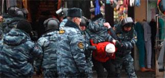 Силовики пошли на петербургский рынок за исламистами-экстремистами
