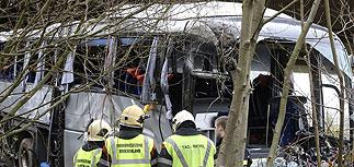 Названы имена россиян, погибших в автобусе в Бельгии