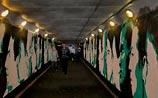 Стены тоннеля у Курского вокзала решено сберечь, нарисовав спонсоров за 2000 руб