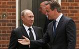 Путин после встречи с Кэмероном напомнил, что в Сирии оппозиция ест людей