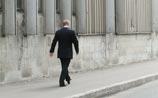 """Отослав охрану и гуляя по Питеру """"в одиночестве"""", Путин нарушил ПДД (ВИДЕО)"""