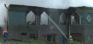 Полиция подтверждает, что пожар в новгородском психдиспансере устроил пациент