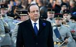 Олланда освистали на параде в честь годовщины окончания Первой мировой войны