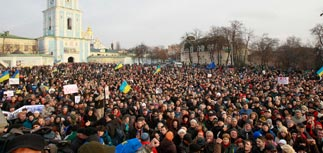 Украинская оппозиция готовит забастовку и коллапс Рады