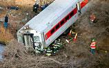 В Нью-Йорке поезд метро сошел с рельсов, погибли 4 человека, более 60 раненых