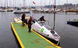 Конюхов отправился в очередное плавание: через Тихий океан на весельной лодке