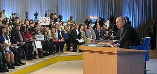 9-я пресс-конференция Путина не принесла сенсации. Ее президент озвучил уже не в прямом эфире