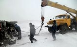 Из-за снегопада в Ростове-на-Дону закончился хлеб, а на Кубани застряли автобусы Олимпиады