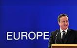 Британия будет добиваться суровых ограничений для мигрантов из ЕС, объявил Кэмерон