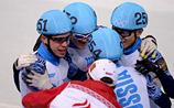 Еще одно золото шорт-трекистов вывело Россию на второе место в общем зачете
