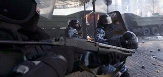 Киев переведен на осадное положение после кровопролитных столкновений