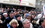 В Симферополе требуют референдума об отделении Крыма от Украины