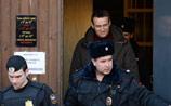 """Навальному дали 7 суток за участие в акции поддержки осужденных """"узников Болотной"""""""