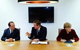 Меркель, Олланд и Кэмерон готовы ввести санкции против РФ. Визовый диалог уже на паузе