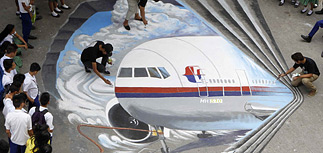 Пропавший малайзийский Boeing упал в Индийском океане