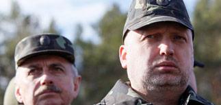 Турчинов решил уволить силовиков юго-востока Украины за 'бездействие и беспомощность'