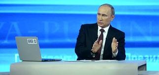 """Путин завершил прямую линию патриотическим эссе о русской душе и новым """"помилованием"""""""