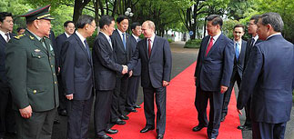 Россия и Китай в заявлении по Украине осудили тех, кто вмешивается в дела других стран