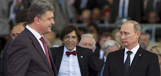 Путин одобрил выбор украинского народа после 15-минутной беседы с Порошенко