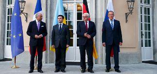 В Берлине началась встреча глав МИД России, Украины, Германии и Франции