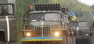 Киев: часть колонны бронетехники из России уничтожили украинские военные