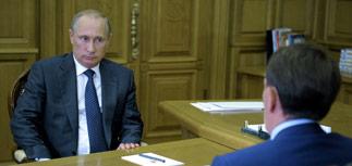 """Путин поручил правительству РФ разработать """"аккуратный ответ"""" на западные санкции"""