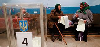 Выборы на Украине - в Раду попадают 7 партий без коммунистов