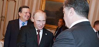 """Порошенко не удалось уладить с Путиным """"газовый вопрос"""""""
