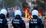 В Брюсселе разогнали акцию бюджетников, переросшую в беспорядки