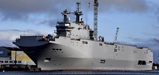 Франция: условий для передачи первого Mistral России нет
