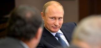 """Путин не увидел в обвале нефтяных котировок """"ничего особенного"""""""