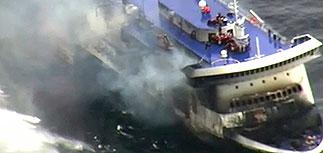 С теплохода в Адриатическом море эвакуированы пассажиры и экипаж