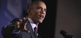 Обама узрел в политике Путина националистические акценты