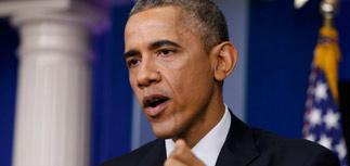 """Обама: Путин """"перед лицом"""" кризиса и падения рубля"""