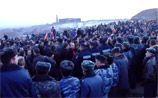 Из-за протестов в армянском Гюмри базу ВС РФ перевели на особое положение