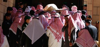 Саудовская Аравия простилась с королем