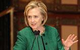 Хиллари Клинтон спародировала Владимира Путина