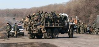 Порошенко объявил, что Украина посрамила Россию, выведя войска из Дебальцево