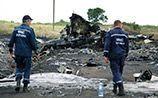 """На месте падения Boeing на Донбассе журналисты нашли осколки ракеты современного """"Бука"""""""