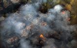 Украинцы потушили пожар в зоне отчуждения под Чернобылем, но рядом полыхает лес