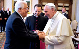 """Папа Римский назвал палестинского лидера Махмуда Аббаса """"ангелом мира"""""""