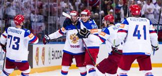 Российские хоккеисты разгромили США в полуфинале ЧМ-2015 - 4:0