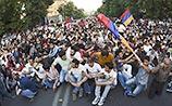 Полиция готовит силовой разгон акции протеста в центре Еревана