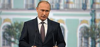 Путин объявил, что кризиса нет, и пообещал рост экономики на среднемировом уровне