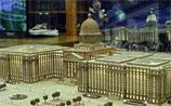 Российские сенаторы выбрали макет парламентского центра, похожий на Капитолий в США