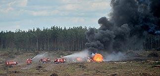 Главком ВВС назвал причину крушения Ми-28 под Рязанью