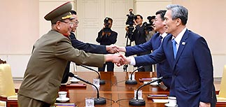 КНДР и Южная Корея разрешили приграничный конфликт
