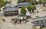 Японские города уходят под воду из-за тайфуна: тысячи людей покидают свои дома
